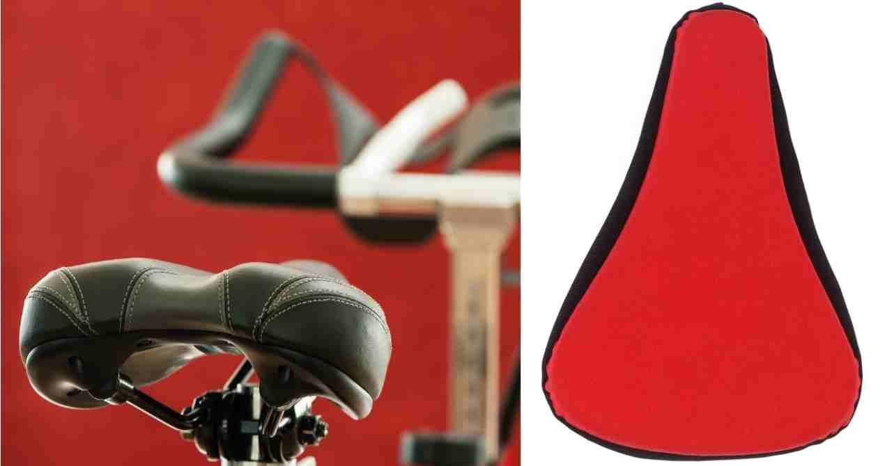 best spin bike seat gel cover